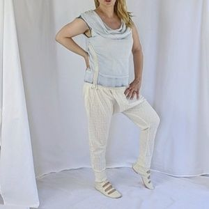 Miss Sixty street washed jeans like top S